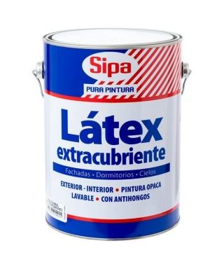 LATEX EXTRACUBRIENTE SIPA GALÓN - ROJO COLONIAL