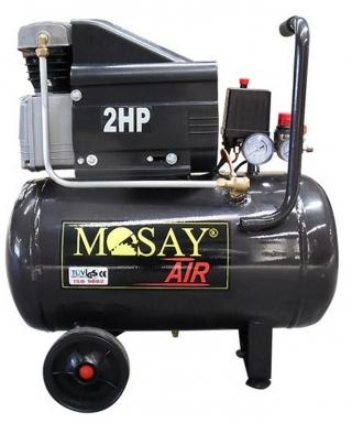 COMPRESOR MOTO 25LTS 2HP MOSAY
