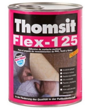 AGOREX - THOMSIT FLEX 125 HENKEL - 1/4 GALON