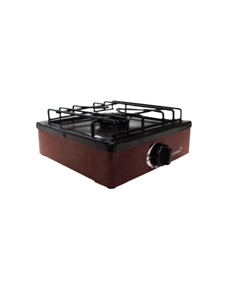 Cocina kalotron 1 quemador a gas con flexible y regulador Cocinilla a gas 1 plato