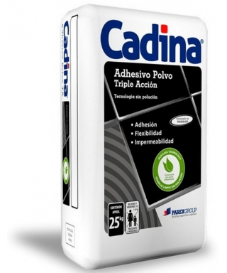 CADINA SUPER PLUS TRIPLE ACCIÓN - SACO DE 25 KILOS