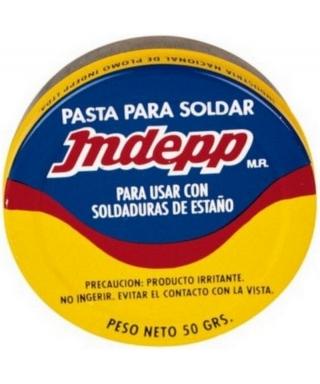 PASTA PARA SOLDAR 50 Grs. INDEPP