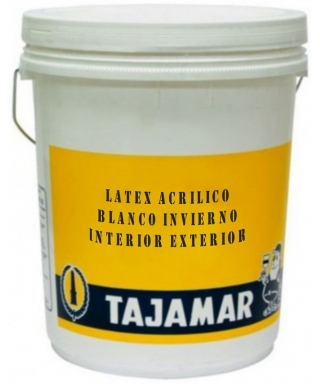 LATEX ACRILICO TAJAMAR BLANCO INVIERNO - TINETA