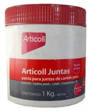 ARTICOLL JUNTAS - PASTA PARA UNIONES DE PLACAS DE YESO CARTON