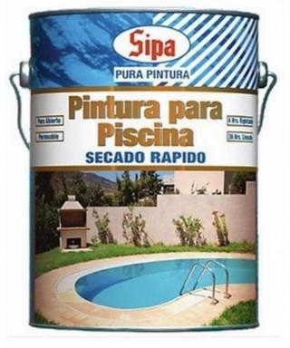 PINTURA SIPA SIPALAC PISCINA - GALON GRIS HUMO