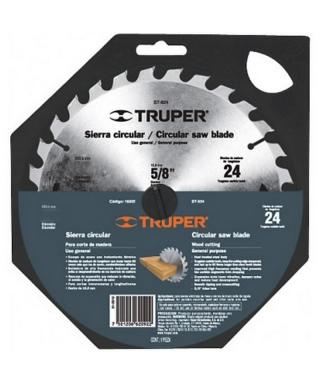 """DISCO SIERRA CIRCULAR TRUPER  7""""  X 24 DIENTES"""