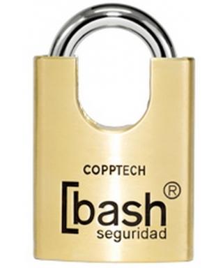 CANDADO SEGURIDAD BASH SCG 50 MMS CON COBRE