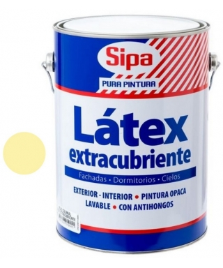 LATEX EXTRACUBRIENTE SIPA GALÓN - MARFIL
