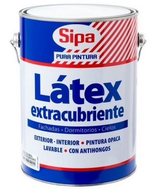 LATEX EXTRACUBRIENTE SIPA GALÓN - BLANCO
