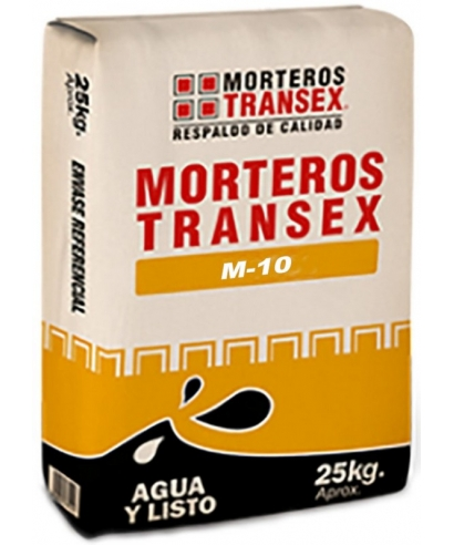 PISO NORMAL TRANSEX M-10 SACO 25 KILOS