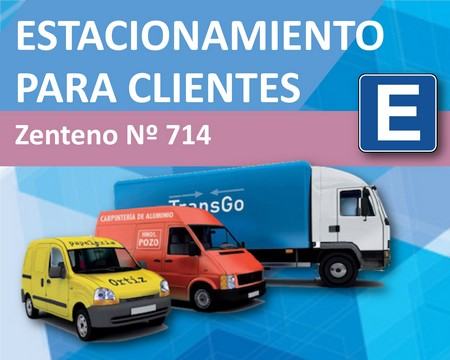 Estacionamiento exclusivo para clientes